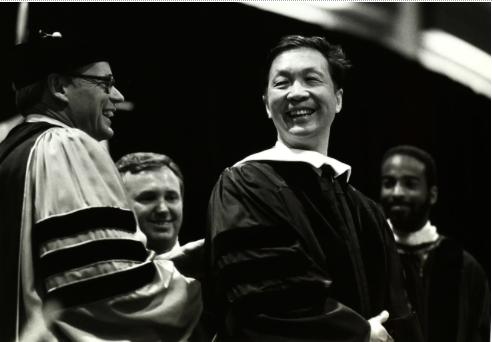 Honorary Degree to Chuan-Wei Wang