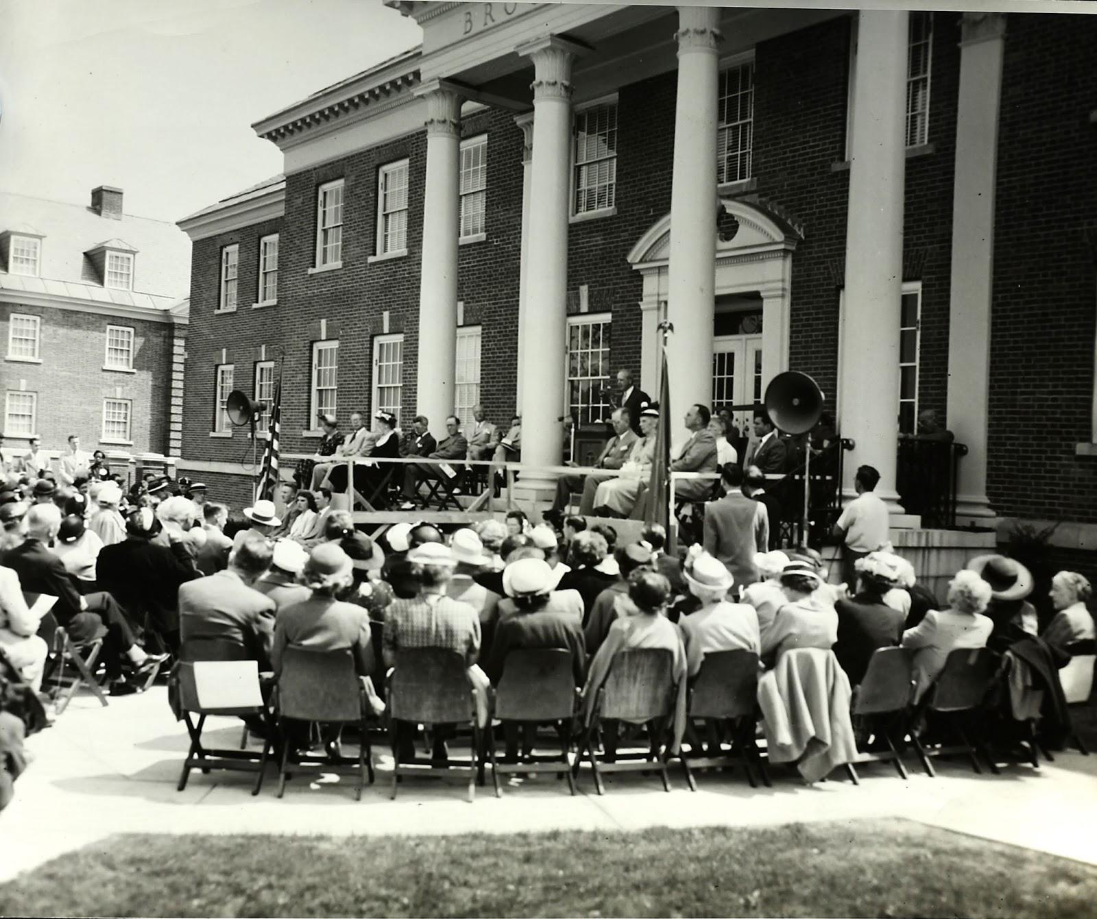 Brockway Hall Dedication