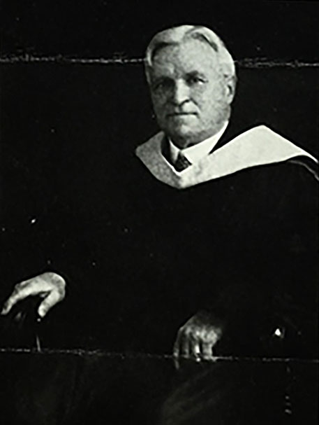 Principal Harry DeWitt DeGroat