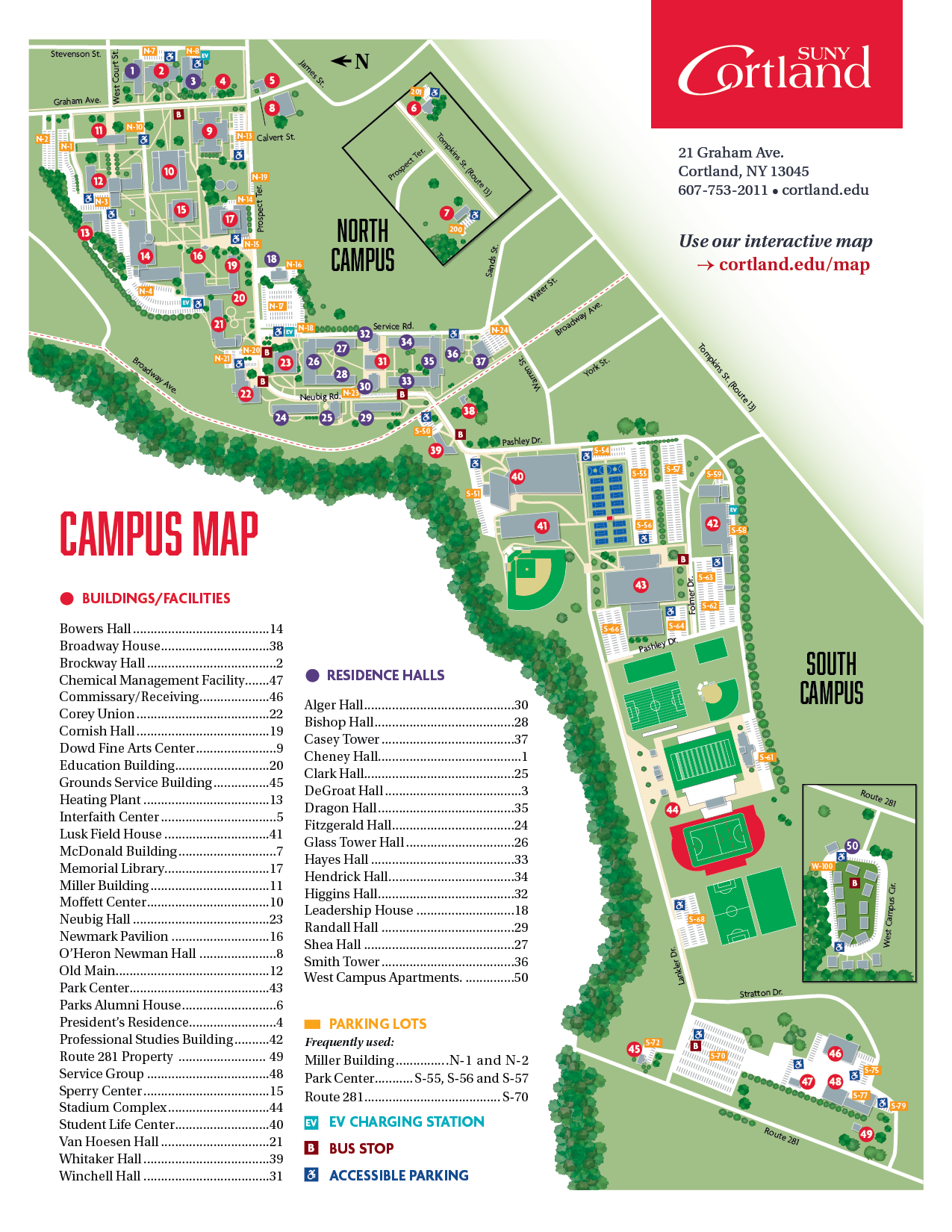 suny old westbury campus map Maps And Directions Suny Cortland suny old westbury campus map