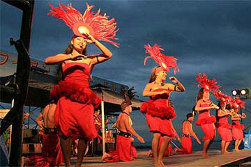 Pacific Island Dance, Music Planned