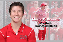 Molly O'Donnell Named New Cortland Softball Head Coach