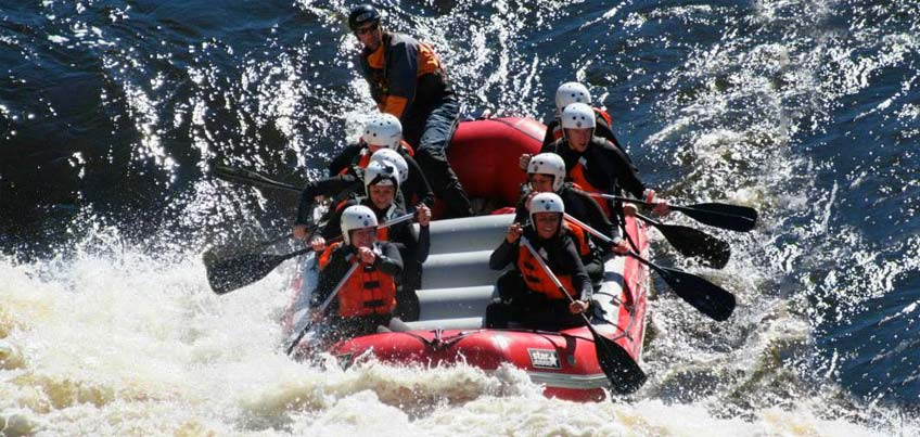 Outdoor Adventure Club whitewater rafting