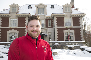 Eric Greenwood Joins Parks Alumni House Staff