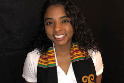 Student honored with Kente NAACP Award