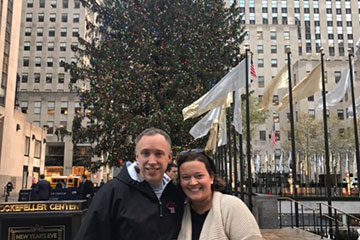 Rockefeller Center Tree was Alum's Holiday Gift