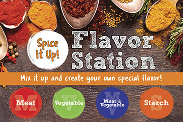 Bistro Flavor Station Shakes Up Student Meals