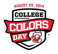 College to Go Red for Colors Day