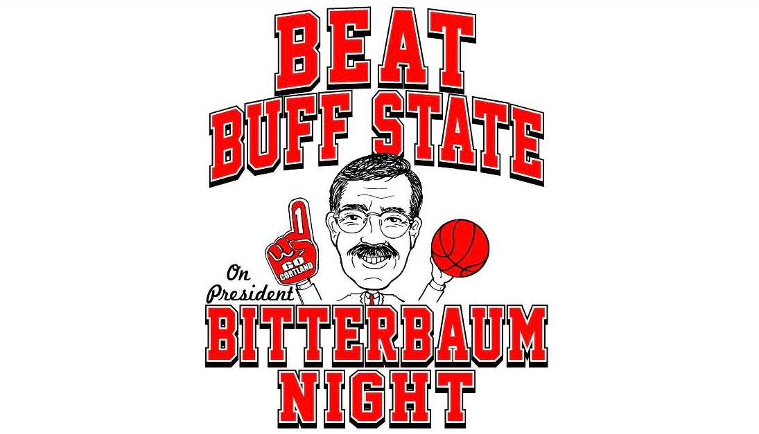 Cortland Basketball to Host 'President Bitterbaum Appreciation Night'