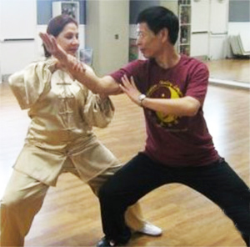 Tai Chi Master Plans Demonstration, Workshop