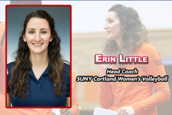 Cortland Hires Erin Little as Women's Volleyball Head Coach