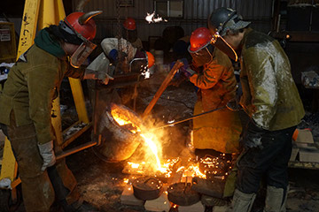 Iron Pour to Highlight Dowd Exhibition
