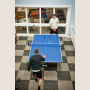 Residence hall recreation lounges are great places to enjoy a little friendly competition.