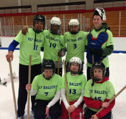 For Students, Broomball Offers Intramural Glory