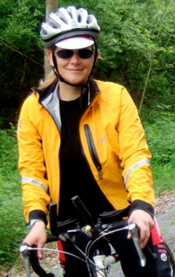 Alumna Wins National Award for Cycling Efforts