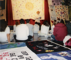AIDS Quilt to be Displayed at College
