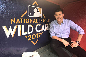 Grad's Ability Translates into Success with MLB