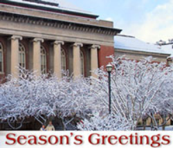 Holiday Greetings from President Bitterbaum
