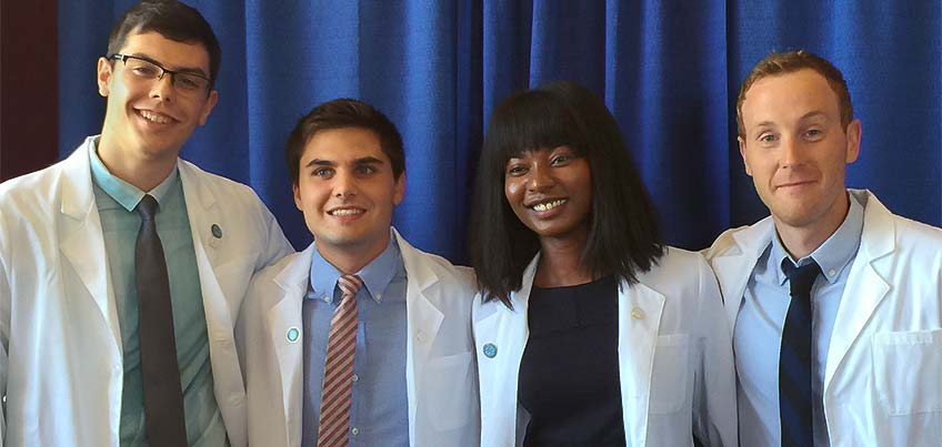 SUNY Cortland graduates in the SUNY Upstate Medical School Class of 2020