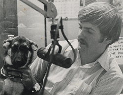 On the air with William Dickerson '69