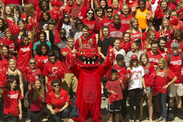 College to Paint Campus with Red Dragon Pride on Sept. 4