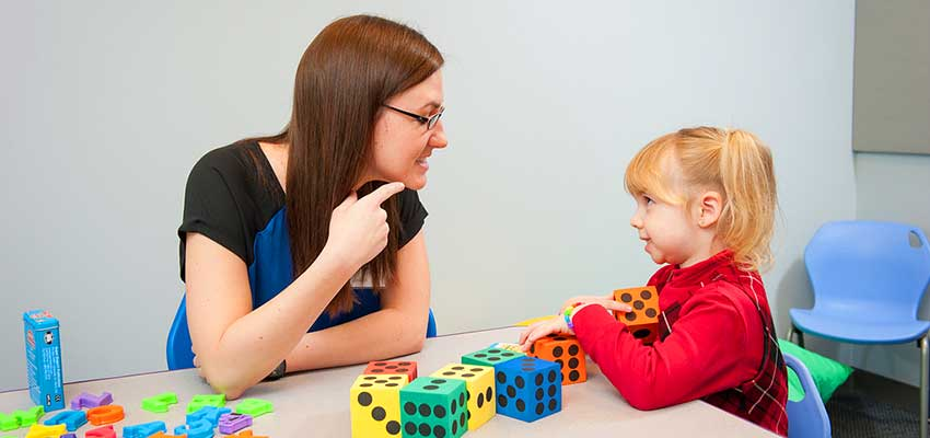 how to give feedback to partents speech pathology