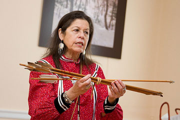 Native American Storyteller to Visit Oct. 25