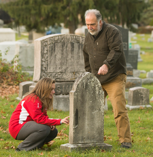 Cemetery Project Renews Town-Gown Ties