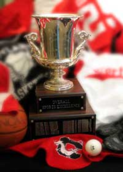 Cortland Athletics Wins SUNYAC Commissioner's Cup