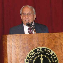 College Honors James Yaman '40 for Service