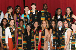 Kente celebration honors students differently
