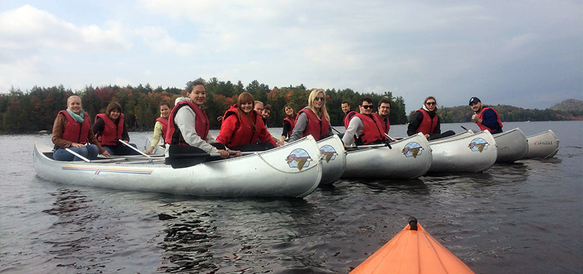 Kayaking at Raquette Lake