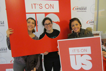 Campus Invited to Take 'It's On Us' Pledge