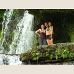 students next to waterfall.JPG