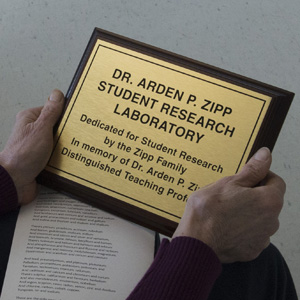 Research Lab Named in Professor's Memory