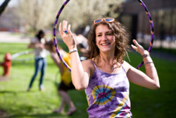 Exercise the Mind and Body with Hoop Dance Club