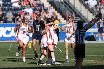 Women's Lacrosse Captures First-Ever NCAA Crown