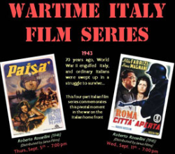 'Wartime Italy' Film Series Continues