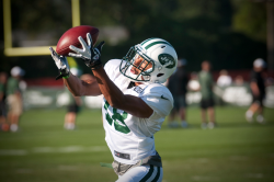 Jets to Practice in SUNY Cortland Stadium