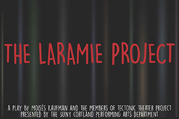 Performing Arts to Stage 'The Laramie Project'