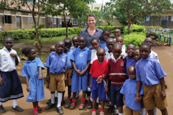 Graduate Expanding Literacy in Africa