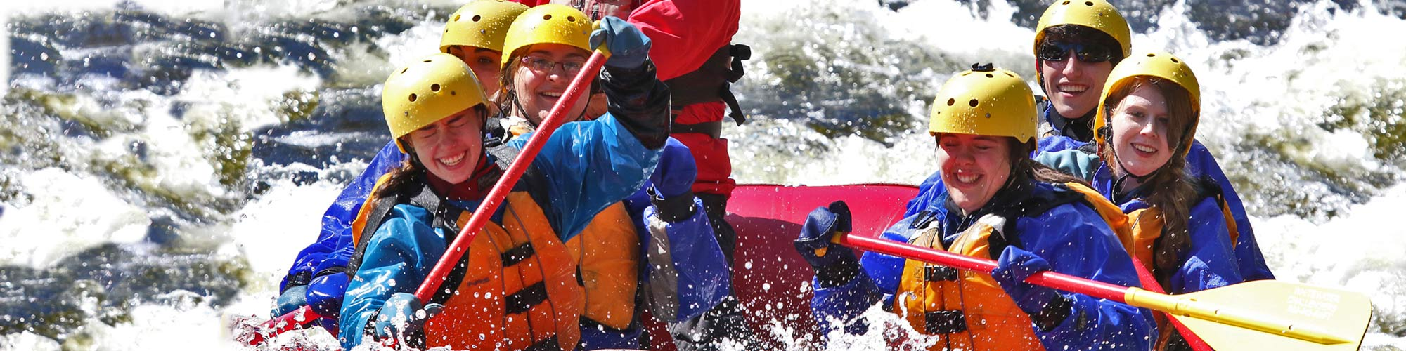 Outdoor Pursuits Whitewater Rafting