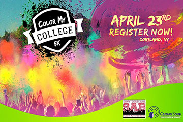 'Color My College' 5k Coming April 23