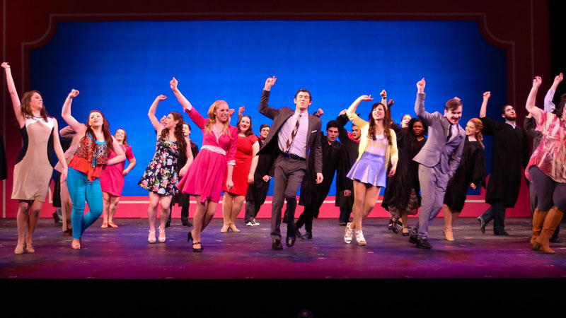 performing arts - banner legally blonde