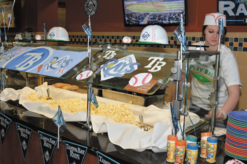 Dining Services Scores Big with 'Play Ball' Night
