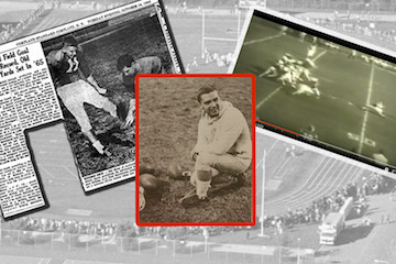 World's 1st 60-Yard Field Goal Kicker to be Honored