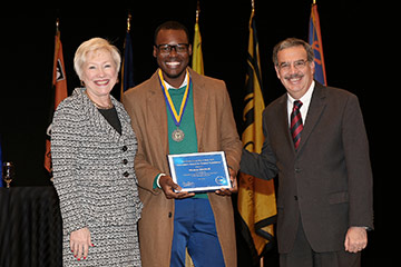 Chancellor Recognizes Four Students for Excellence