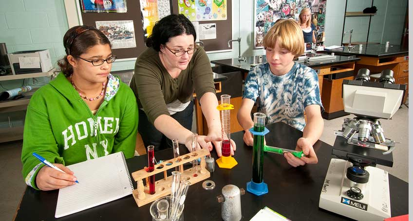 Adolescence Education: Chemistry (7-12)