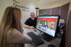 Research Help Available to Students in Memorial Library