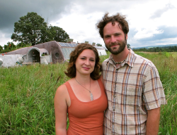 Tour of Freeville Earthship Offered
